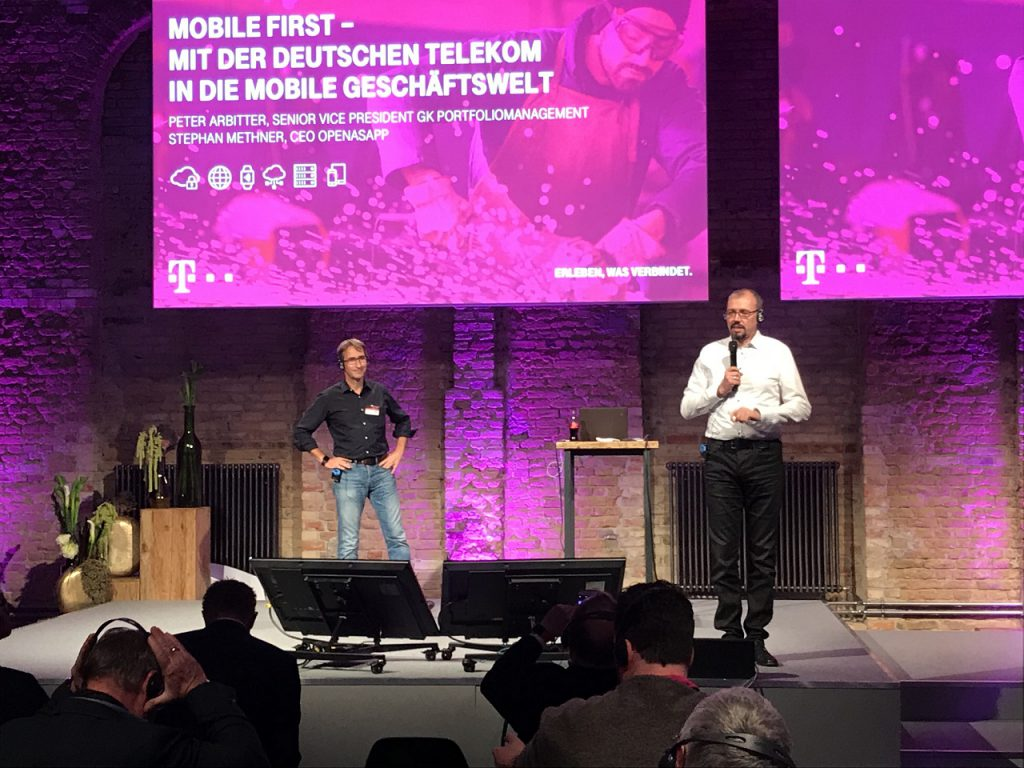 Telekom & Open as App: Dialog Congress 2017