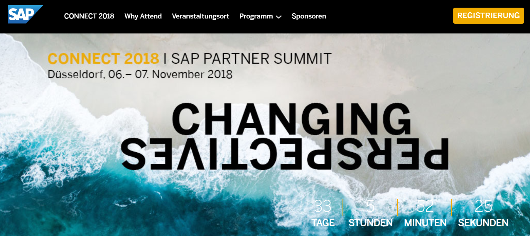 Open as App at key events on SAP and Digitization